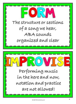 Music Resources (3rd Grade Set #2)