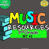 Music Resources (Third Grade Music Worksheets and Activities-Set #2)