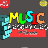 Music Resources (Fourth Grade Music Worksheets and Activities)