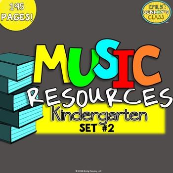 Music Resources (Kindergarten Music Worksheets and Activities-Set #2)