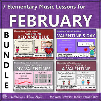 Music Resources for February: Orff, Rhythm, Melody, Instruments, Movement & More