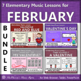 Elementary Music Lessons for February: Orff, Rhythm, Melody and Instruments