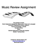 Music Review Assignment