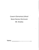 Music Review Workbook