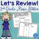 Music Review Workbook: Second Grade Starter