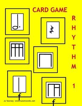 Music: Rhythm 1 Card Game