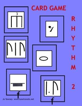 Music Rhythm 2 Card Game