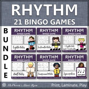Rhythm Bingo Games - Bundle