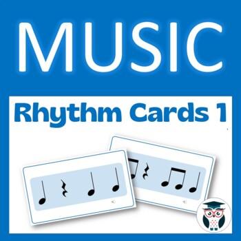 Music Rhythm Cards #1