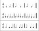 Music Rhythm Cards - 4/4 Time Signature