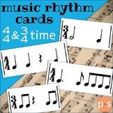 Music Rhythm Cards