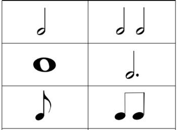 Music Rhythm Cards - Beginner