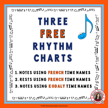 Music Rhythm Charts: Free Download