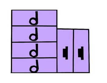 Music Rhythm Fraction Bars for Color Copier or Printer