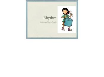 Music Rhythm Lesson Plan