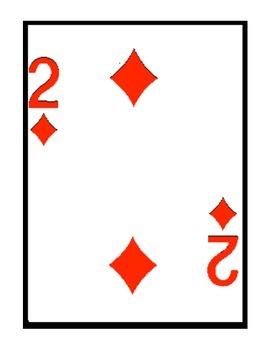 Music Rhythm Playing Cards
