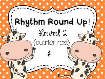 Music Rhythm Round Up BUNDLE Levels 1-6