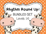 Music Rhythm Round Up BUNDLE Levels 1-6