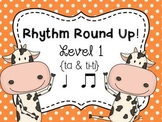 Music Rhythm Round Up Level 1 {ta and ti-ti}