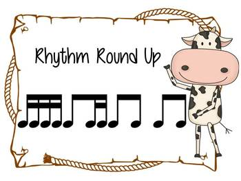 Music Rhythm Round Up Level 5 {ti-tika}