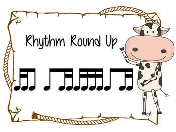Music Rhythm Round Up Level 6 {tika-ti}