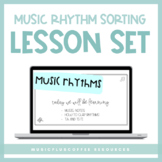 Music Rhythm Sorting for Google Slides™ | Distance Learning