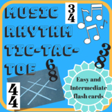 Music Rhythm Tic-Tac-Toe Game