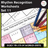 Music Rhythm Worksheets 11