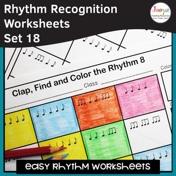 Music Rhythm Worksheets 18