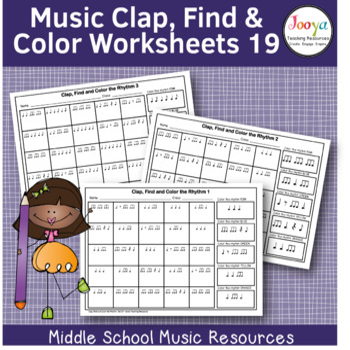 Music Rhythm Worksheets 19