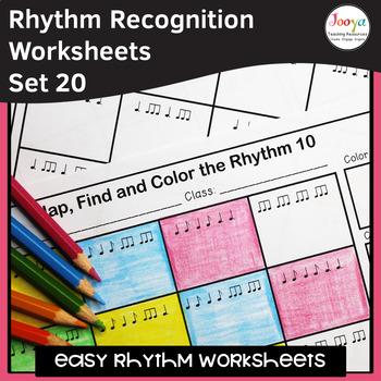 Music Rhythm Worksheets 20