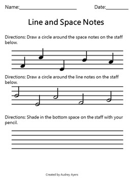 Music Rhythm Worksheets (Easy rhythms-quarter and half notes)