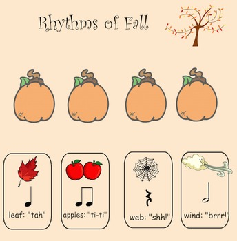 Music: Rhythms of Fall - Interactive Whiteboard File