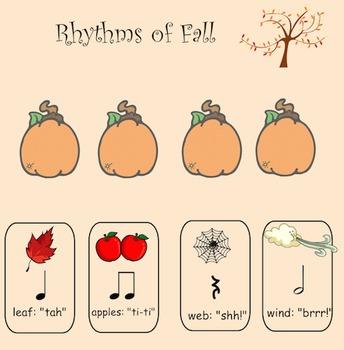 Music: Rhythms of Fall - Interactive Whiteboard File