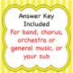 Music Road Signs Worksheet (No Prep)