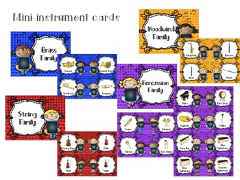 Music Rocks! iPad Kids Music Décor: Instrument Posters for the Music Classroom