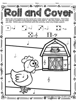 Music Roll and Cover - Animals Edition