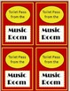 Music Room Broadway Theme Bundle