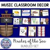 Music Room Decor BUNDLE {Pirate Themed}