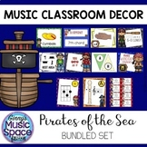 Music Room Decor BUNDLE Pirate Theme