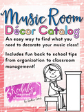 Music Room Decor Catalog