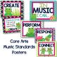 Music Room Decor Kit {Frog Theme}