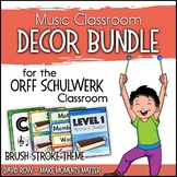 Music Room Decor Kit for the Orff Schulwerk Classroom - Br