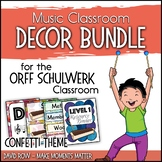 Music Room Decor Kit for the Orff Schulwerk Classroom - Co