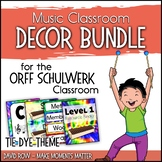 Music Room Decor Kit for the Orff Schulwerk Classroom - Ti