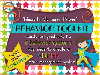 Music Room Essentials - Behavior Toolkit in Music Is My Su