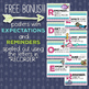Music Room Essentials - Ocean Recorder Fingering Posters (plus FREE bonus!)