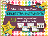 Music Room Essentials - Orchestra Families in Music Is My