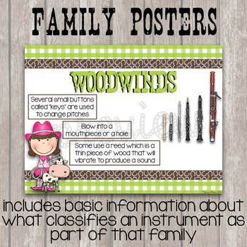 Music Room Essentials - Wild West Orchestra Posters