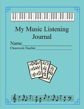 Music Room Listening Journal